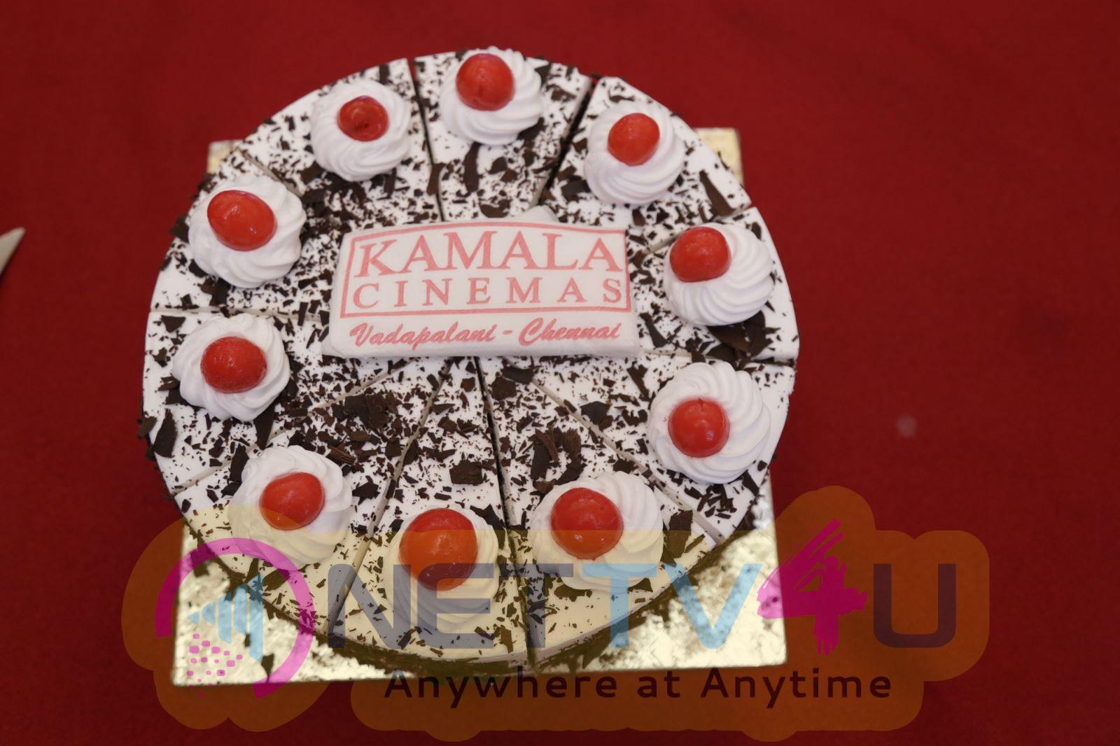 Kamala Cinemas Felicitating Velaina Vanthuta Vellaikaran Team Attractive Photos