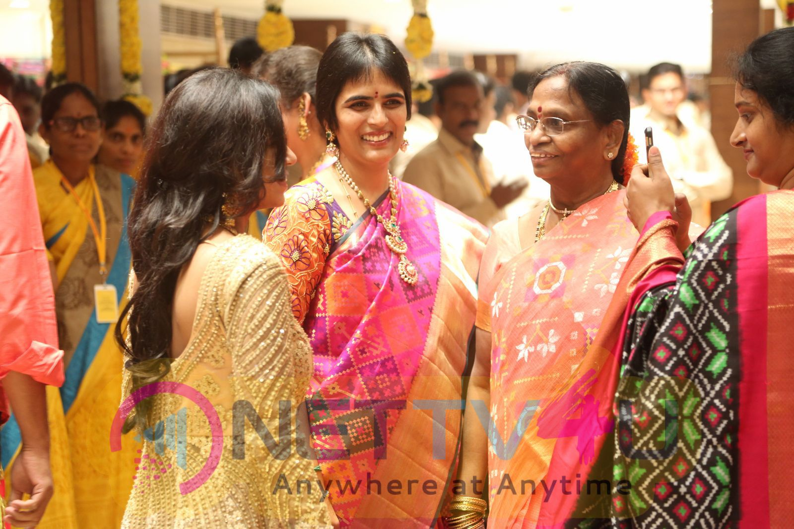 Kancheepuram Varamahalakshmi Silks Launch Photos