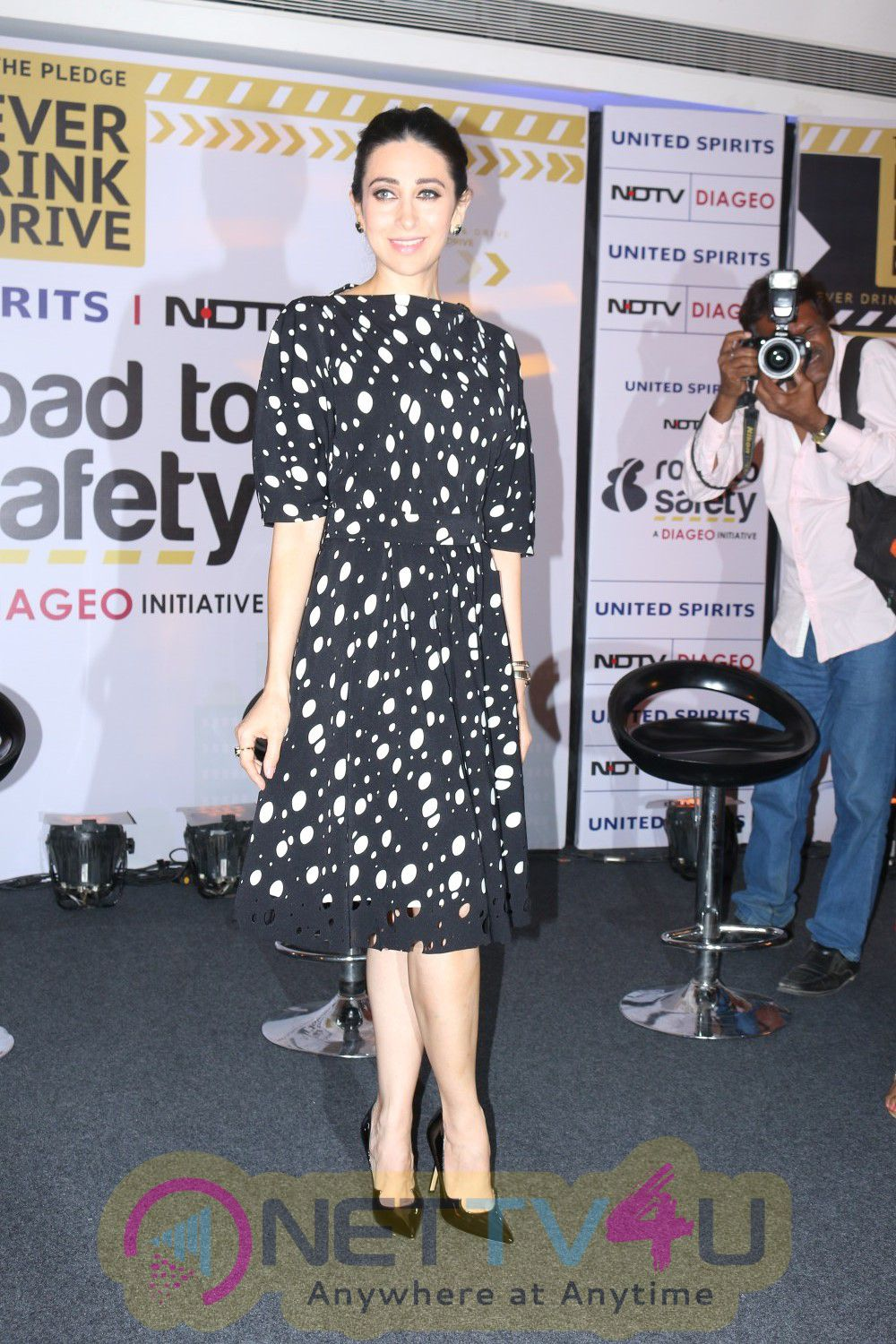 Karisma Kapoor At Launch Of Their Road To Safety Campaign Season 3 Photos