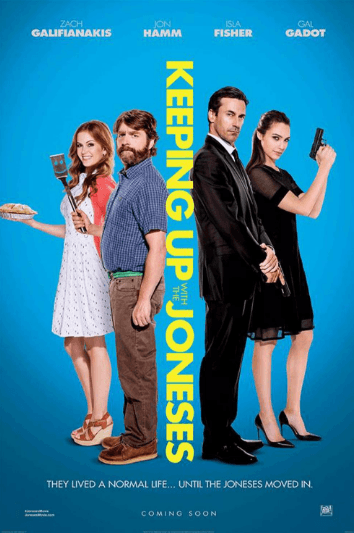 Keeping Up With The Joneses Movie Review English Movie Review