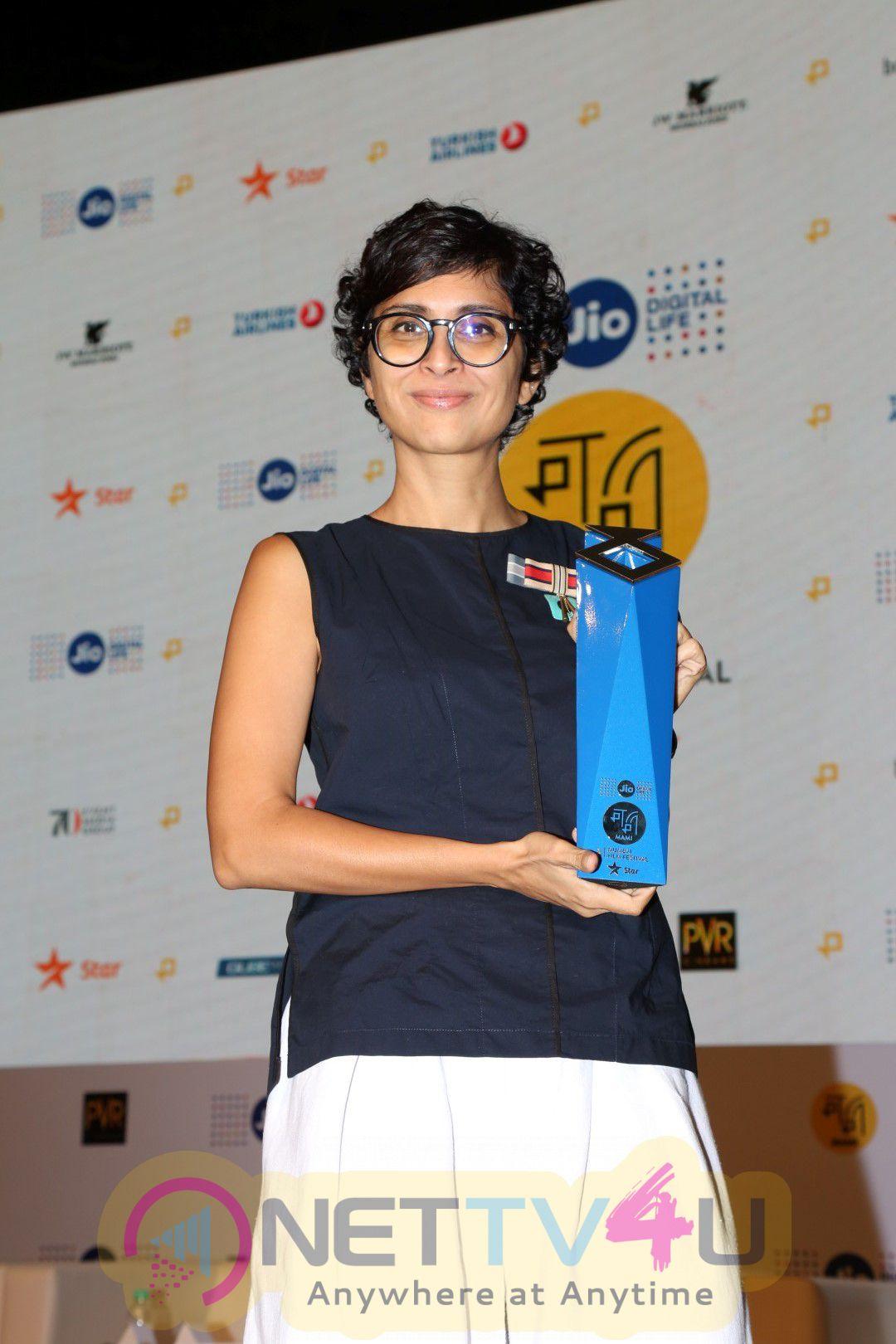 Kiran Rao,Karan Johar & Siddharth Roy Kapur Jio MAMI 18th Mumbai Film Festival Photos