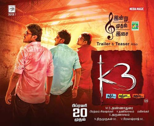 K3 Movie Review Tamil Movie Review