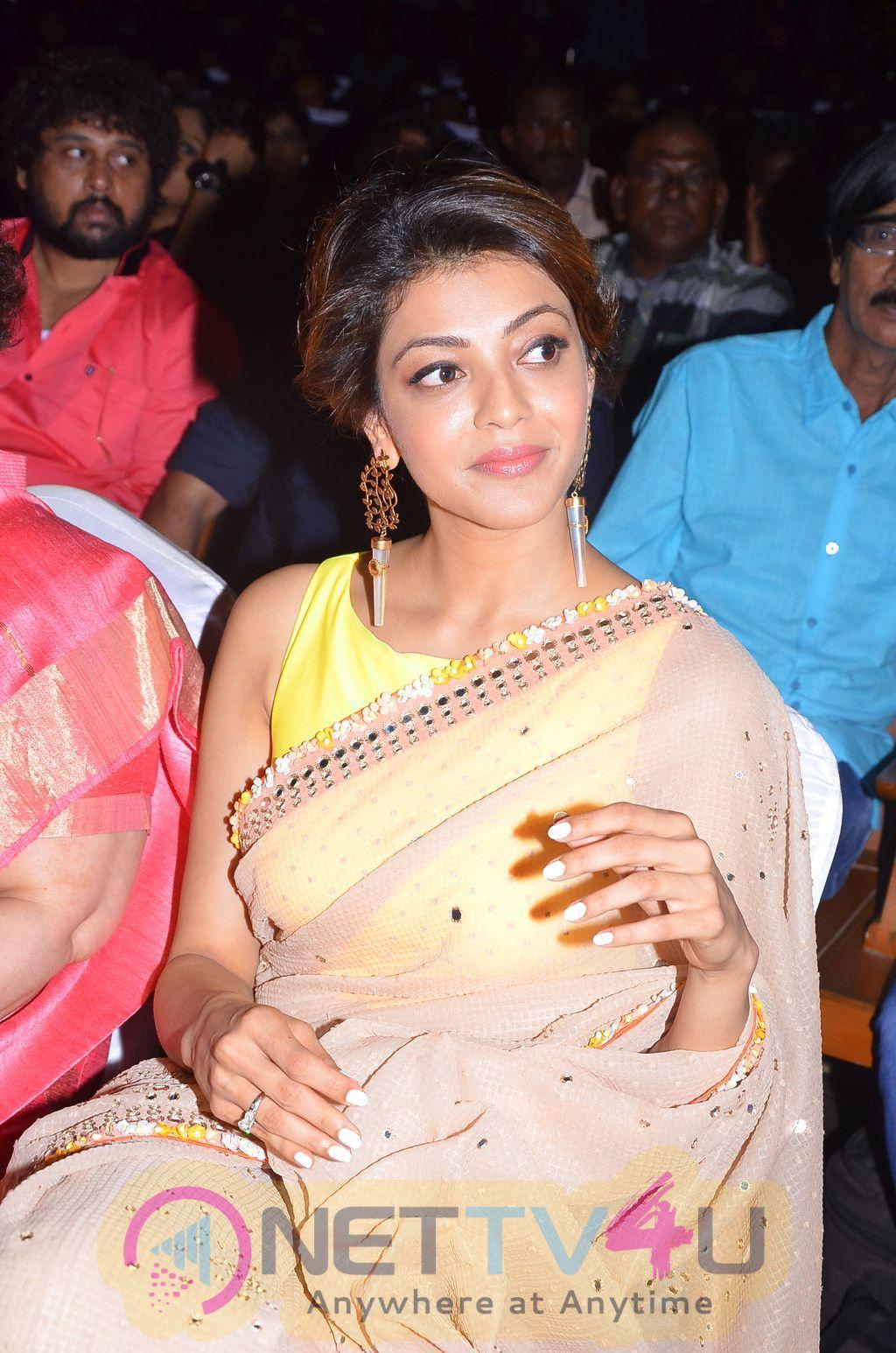 Kajal Agarwal Stills At Puli Movie Audio Release