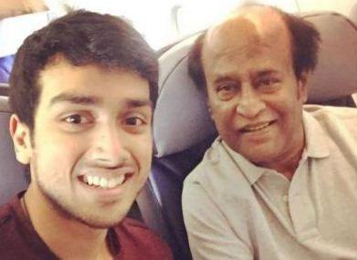 Kalidas Jayaram's Selfie With Superstar!