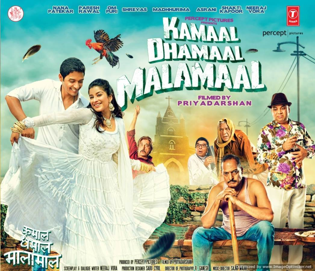 Kamaal Dhamaal Malamaal Movie Review Hindi