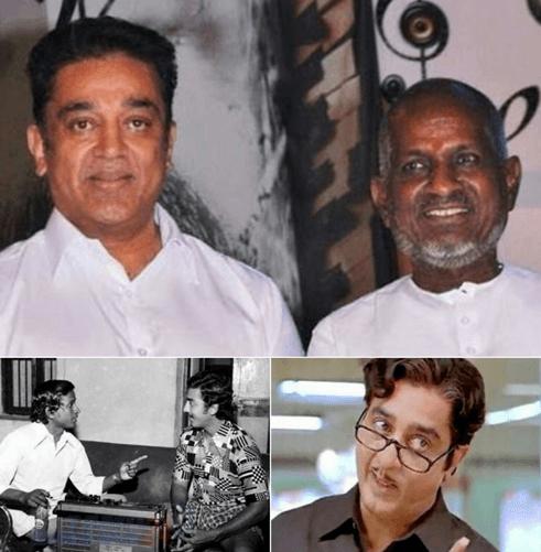 Kamal Haasan And Ilaiyaraaja Collaborate