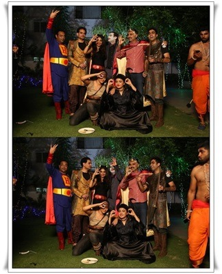 Kanika D Kovelamudi's Surprise Costume Party For The Size Zero Team