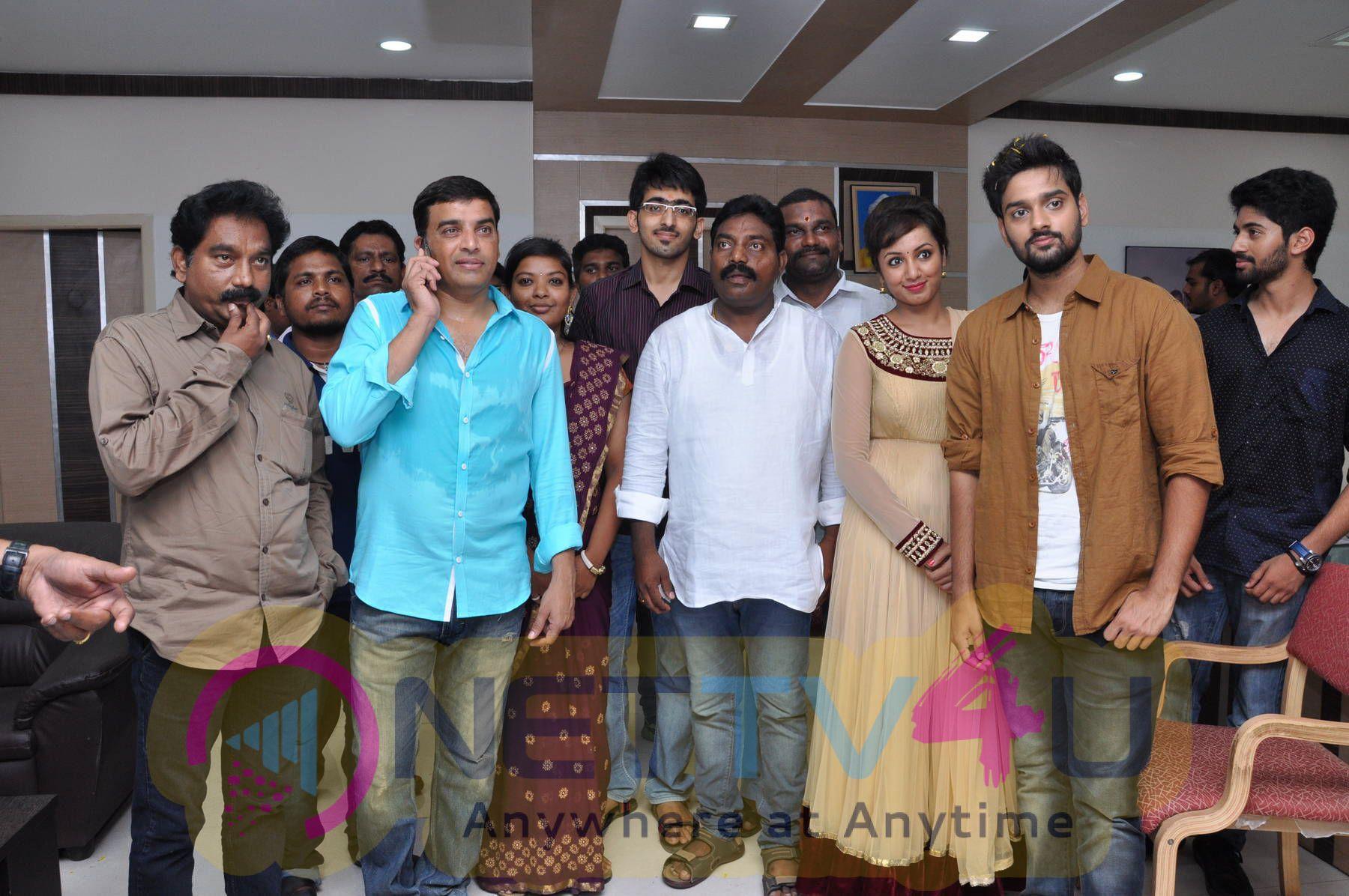 Kerintha Movie Team Photos At Nellore