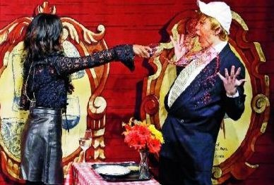 Kerry Splashes Wine In Hasty Pudding Ceremony!