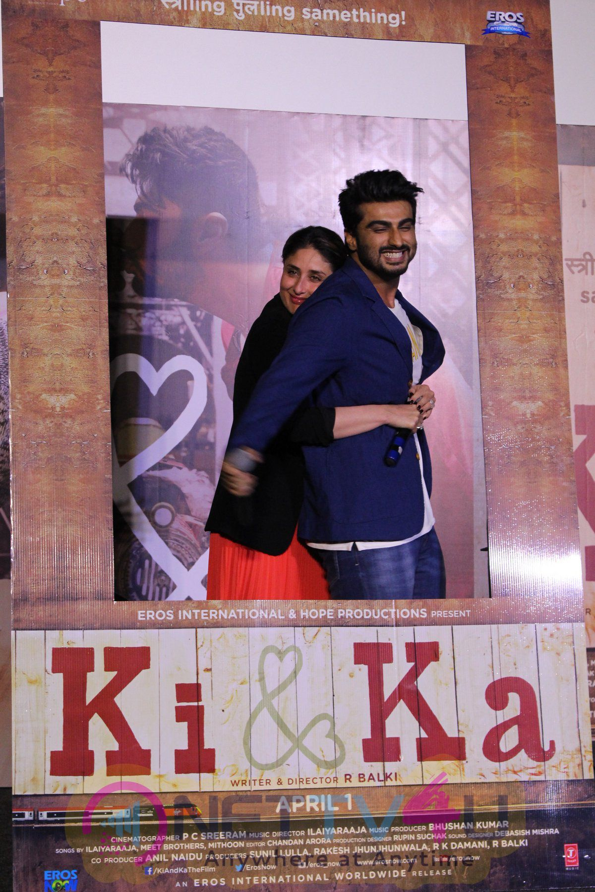Ki And Ka Movie Trailer Launch Photos Hindi Gallery