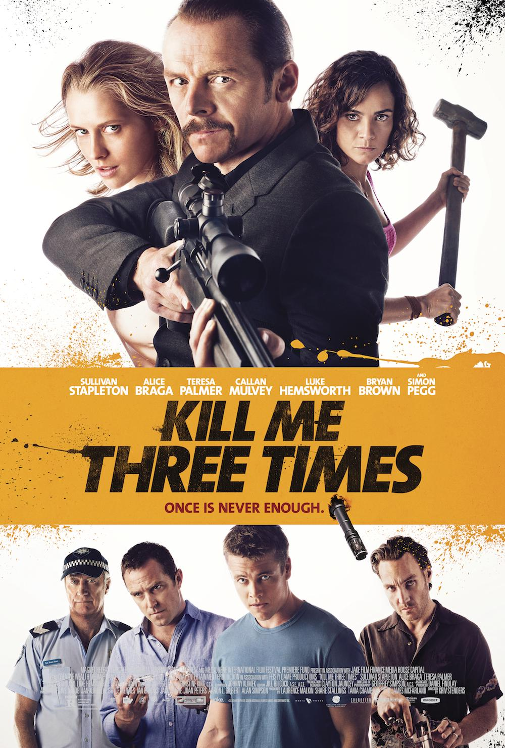 Kill Me Three Times Movie Review English
