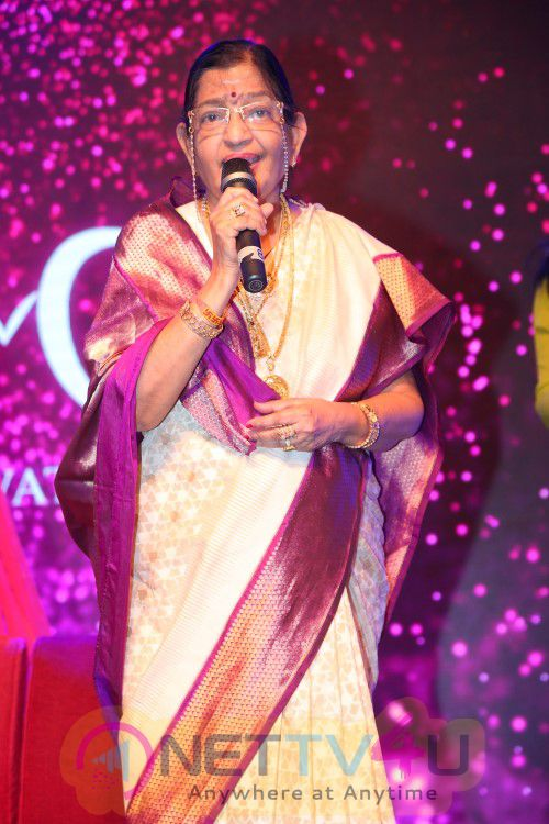 KM Music Conservatory Presents KM Annual Event 2016 & Inauguration Of Sunshine Mirchi Music Hall By Legendary Singer P Susheela Charming Photos