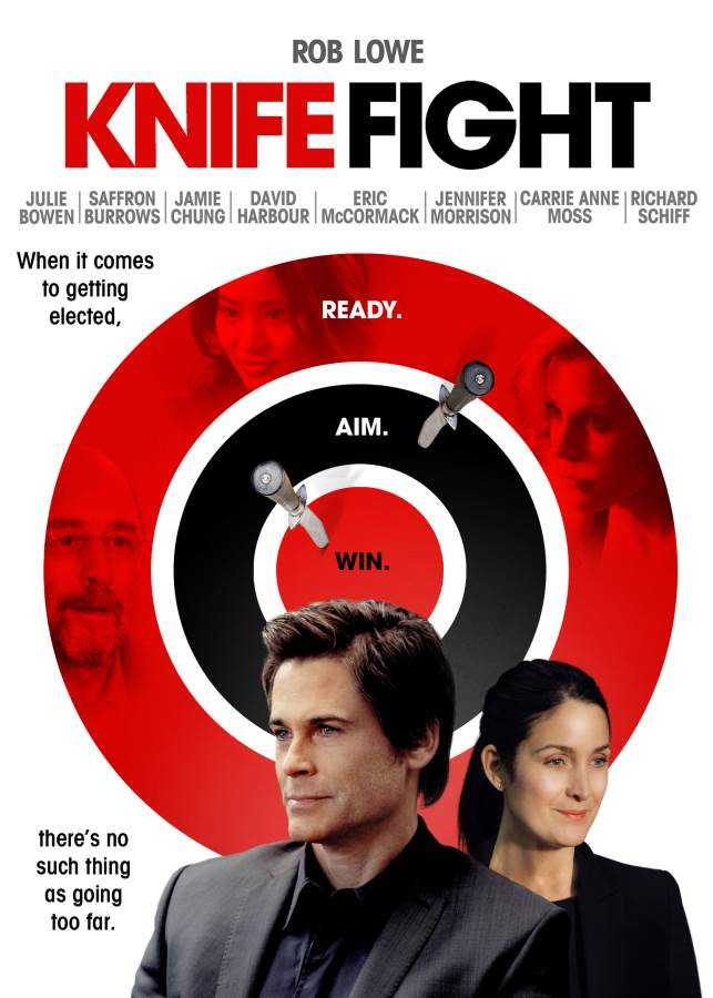 Knife Fight Movie Review English