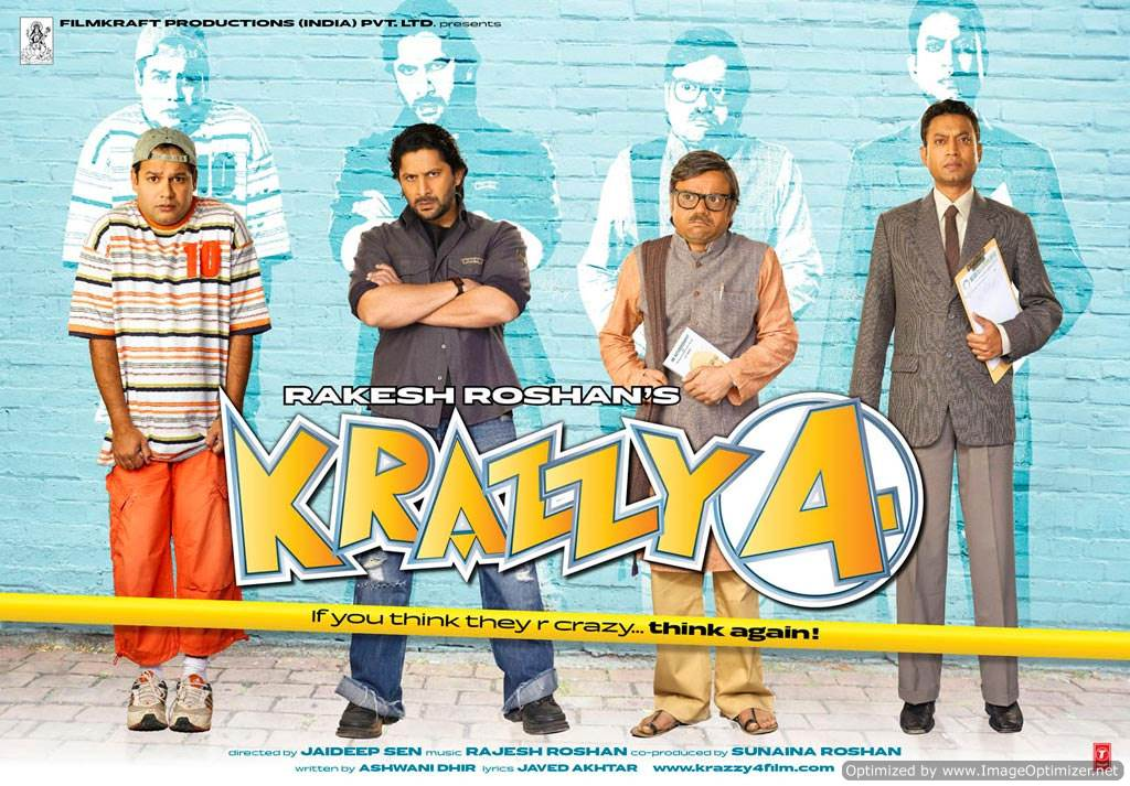 Krazzy 4  Movie Review Hindi