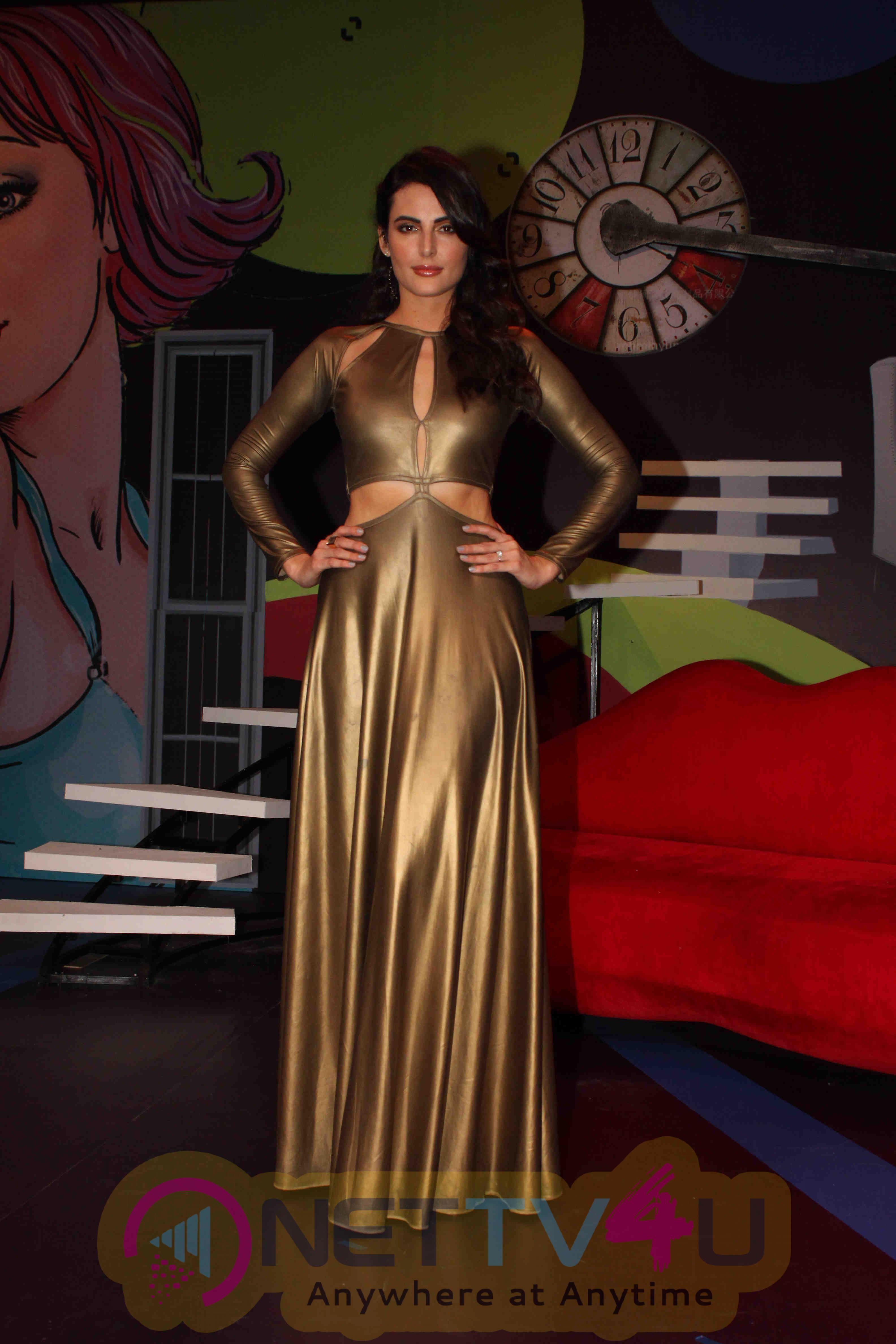 Lara Dutta's Photoshoot For The Yamaha Fascino Miss Diva 2016 Photos