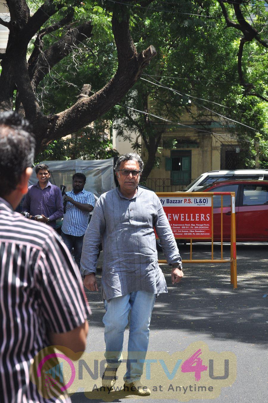 Last Respects To Veteran Actress Jyothi Lakshmi Photos