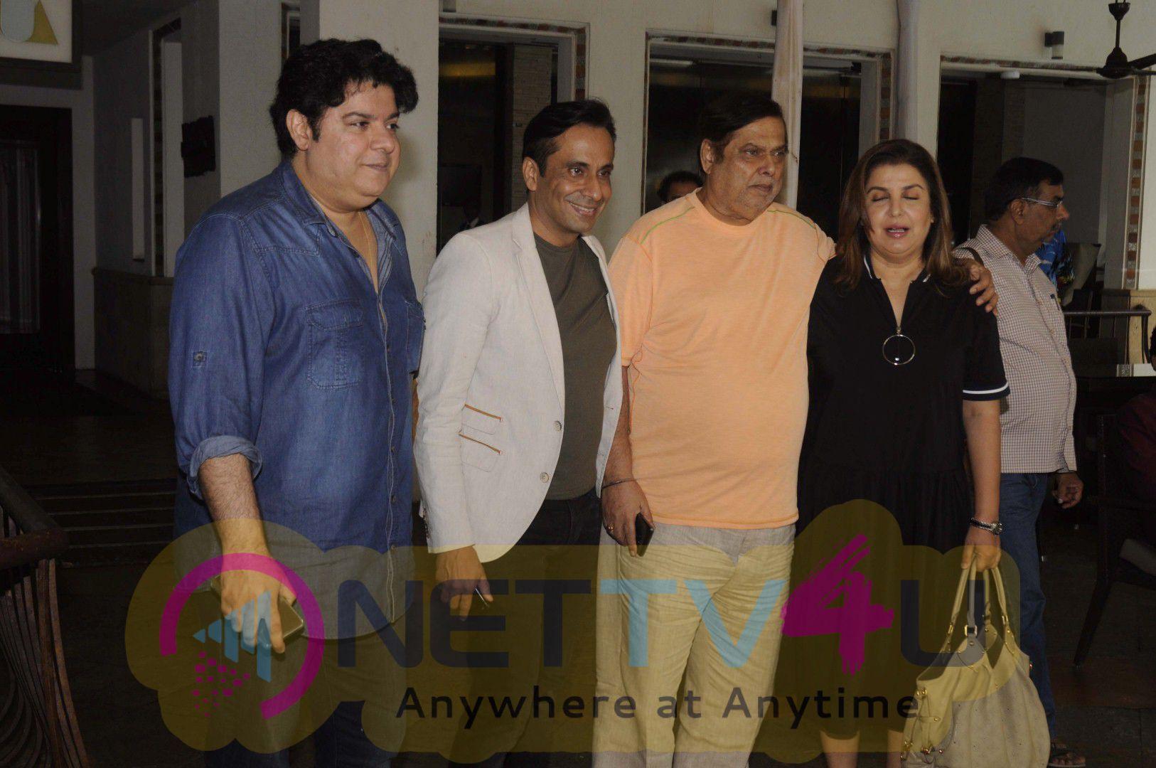 Launch Funny Book The Three Wise Monkeys With David Dhawan & Farah Khan & Sajid Khan Photos Hindi Gallery