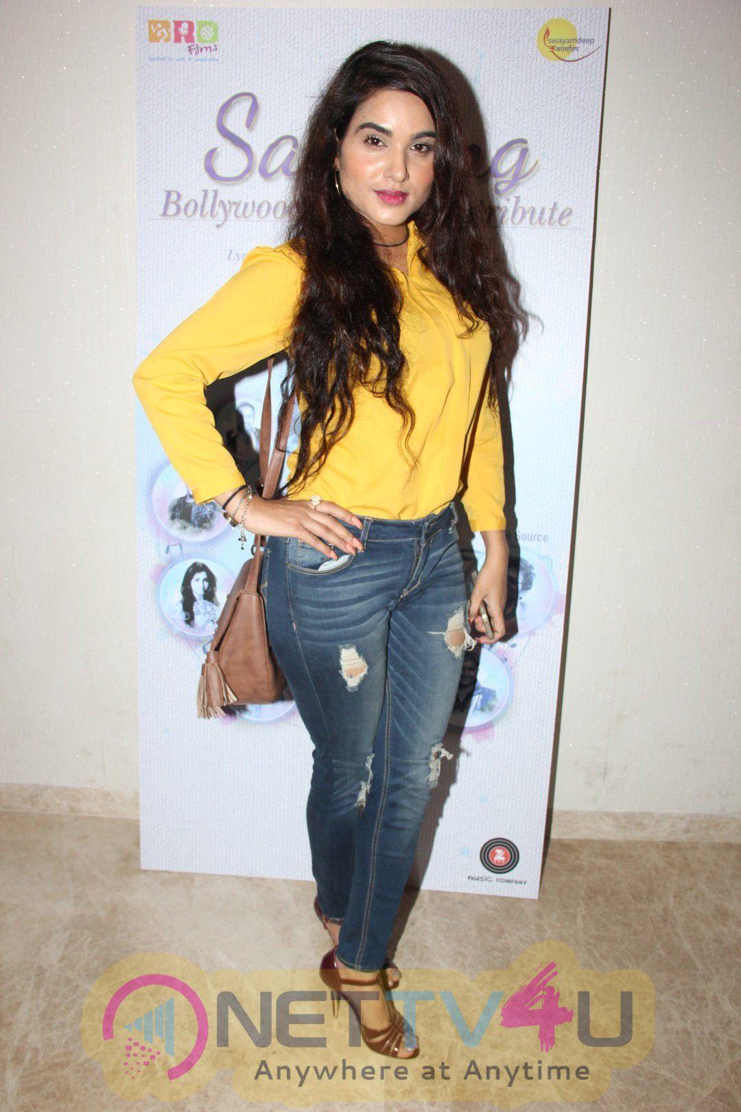 Launch Of Album Sarnang With Jeetendra & Shaan Stills Hindi Gallery