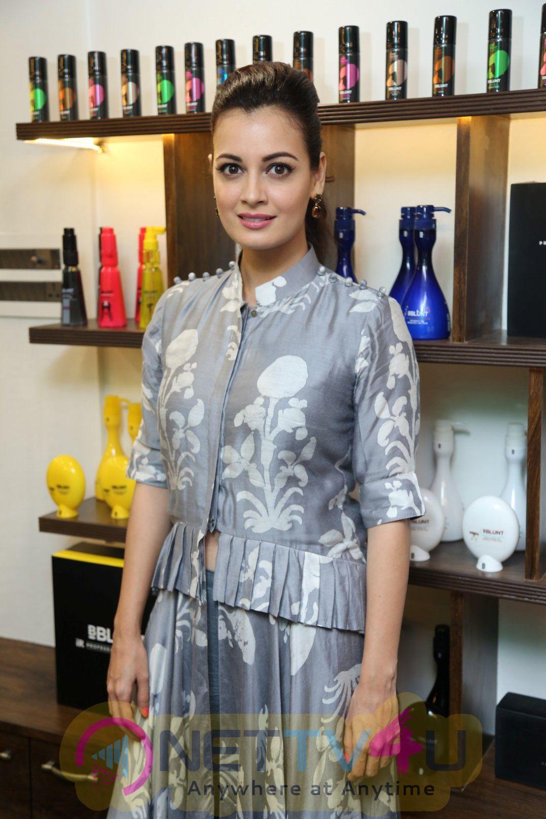 Launch Of BBlunt Ninth Salon In Mumbai With Adhuna Bhabani & Dia Mirza Stills