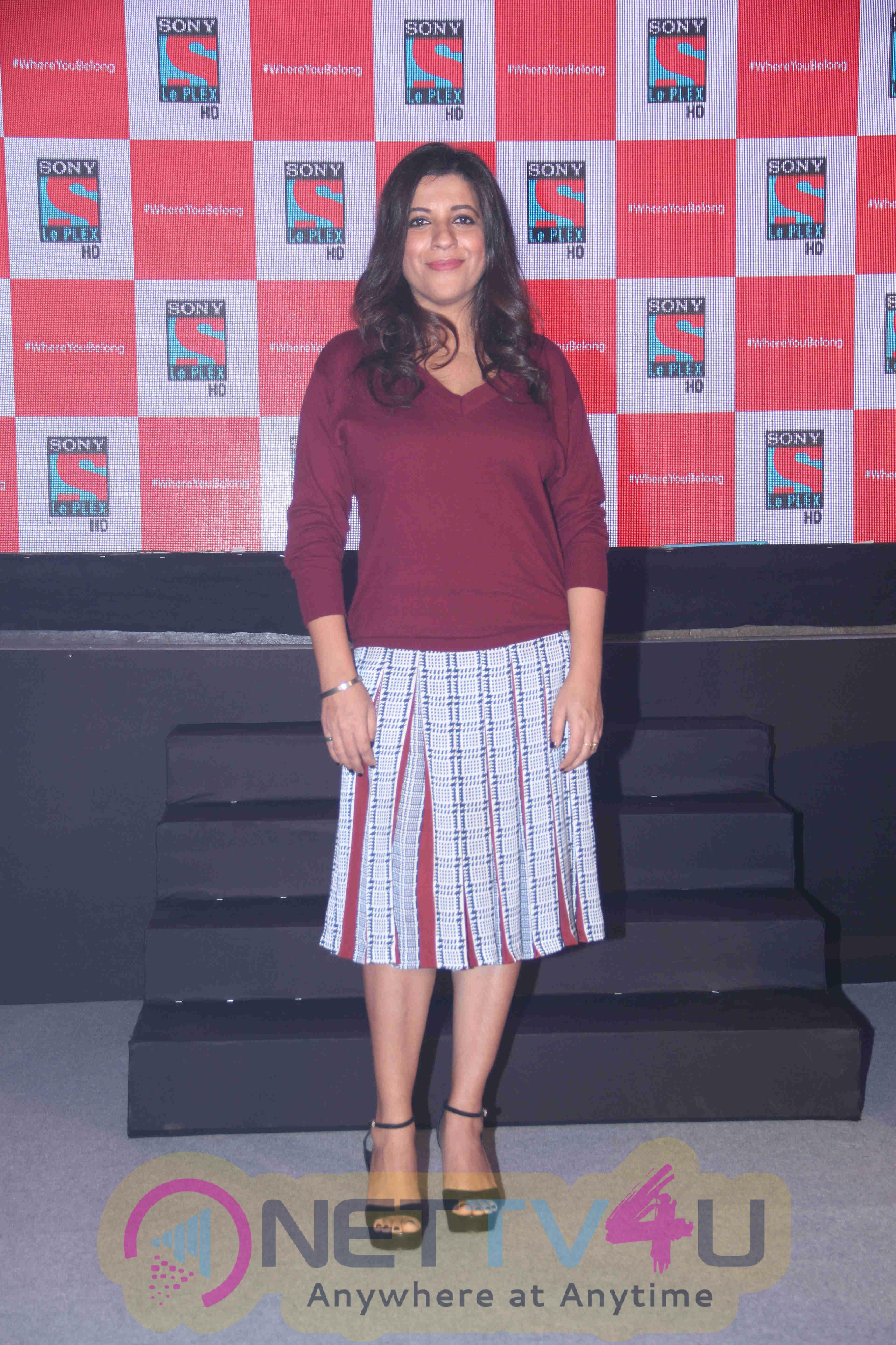 Launch Of English Movie Channel Sony Le Plex HD With Community Ambassador Zoya Akhtar Images Hindi Gallery