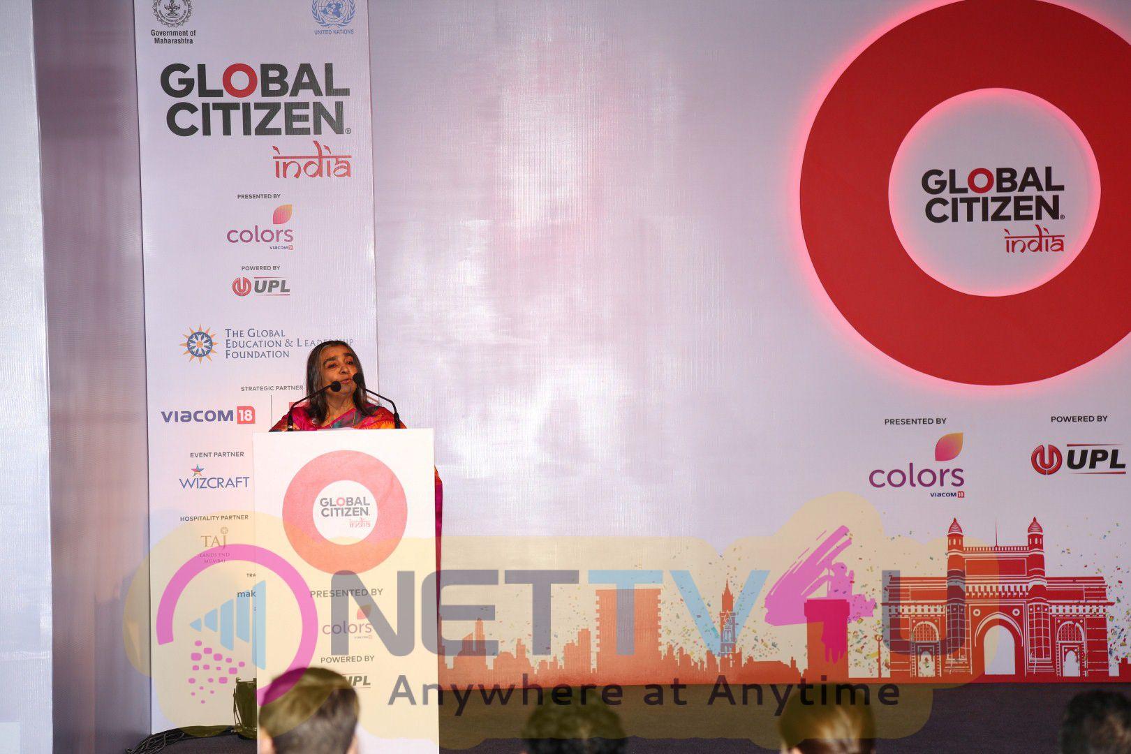 Launch Of Global Citizen India In The Presence Of Big B,Aamir Khan,Farhan Akhtar,Kareena Kapoor & A.R. Rahman Photos