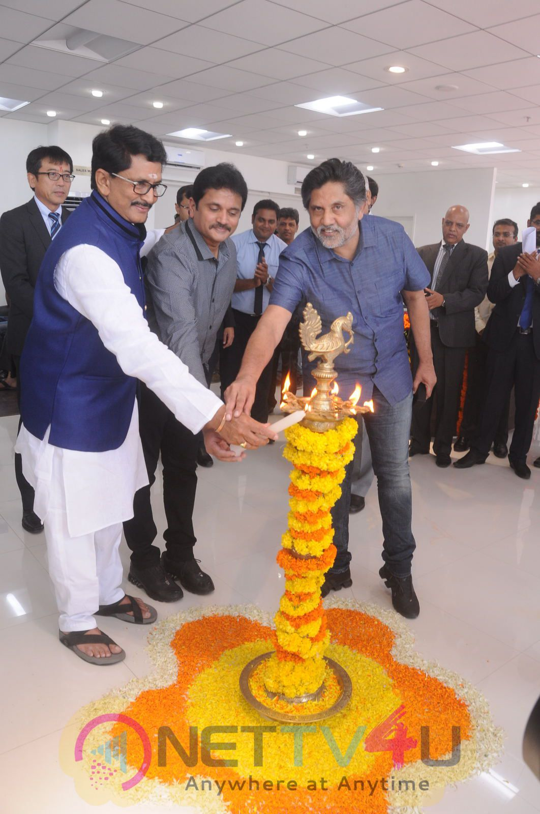 Launch Of Maruti Suzuki Showroom At Gachibowli