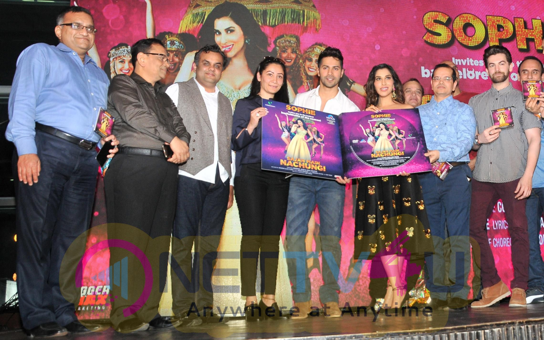 Launch Of Sophie Choudry New Song Sajan Main Nachungi With Varun Dhawan Stills