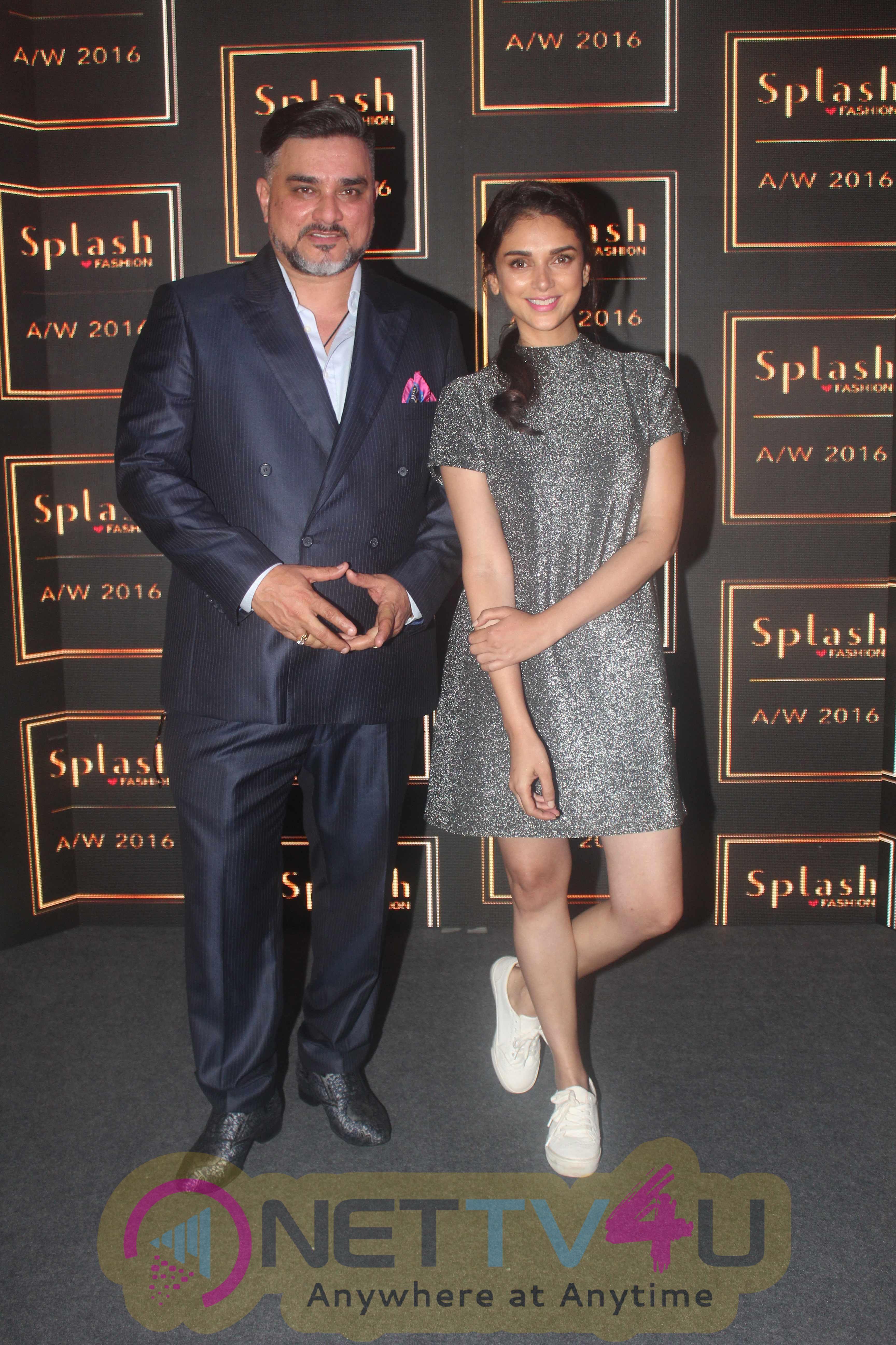 Launch Of Splash Fashion Aw16 Collection With Aditi Rao Hydari Photos