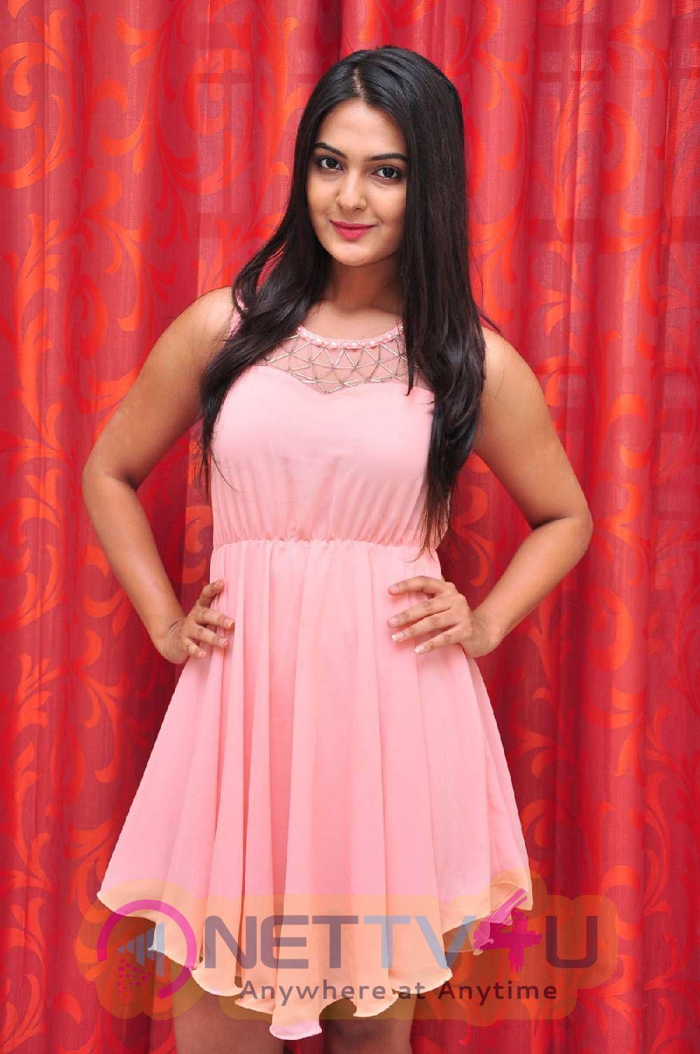 Latest Photos Of Actress Neha Deshpande At The Bells Movie Press Meet
