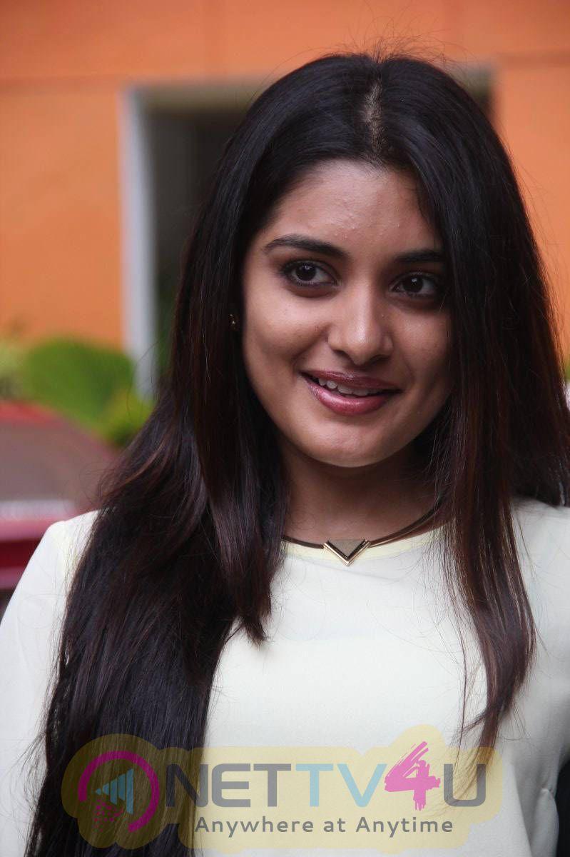 Latest Photos Of Actress Niveda Thomas At Papanasam Press Meet