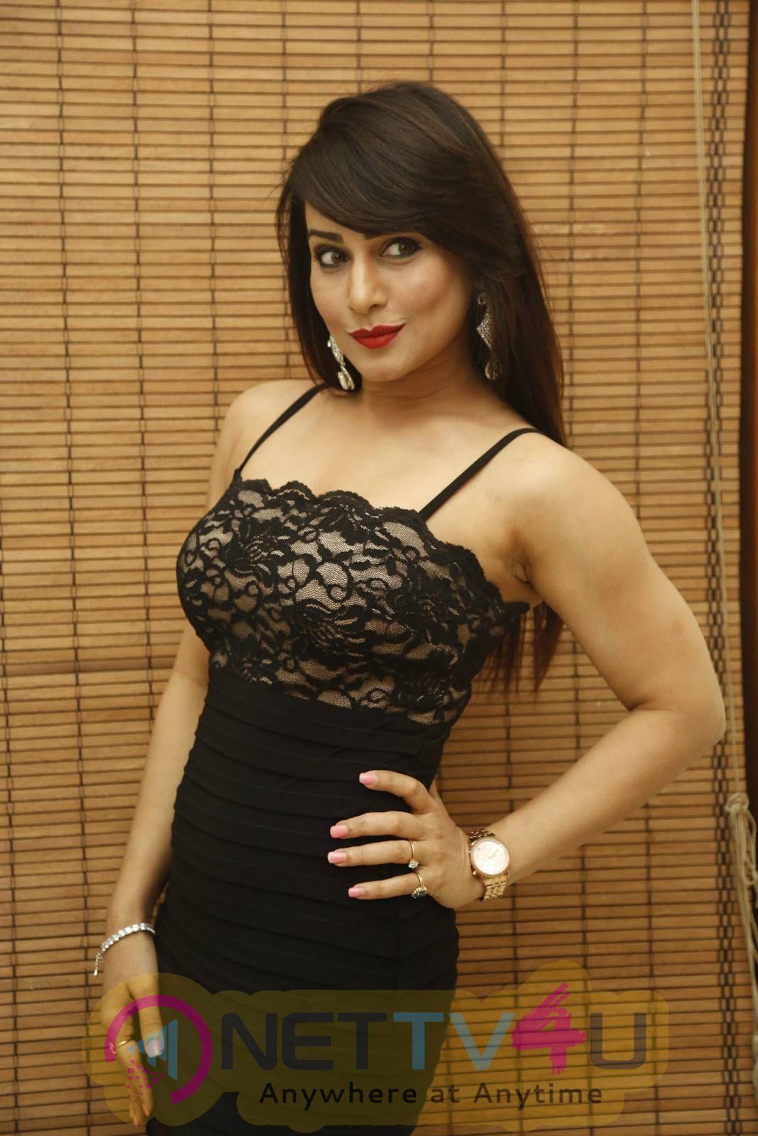 Latest Photos Of Actress Pakhi Hegde At Cinema Choopistha Maava Audio Launch