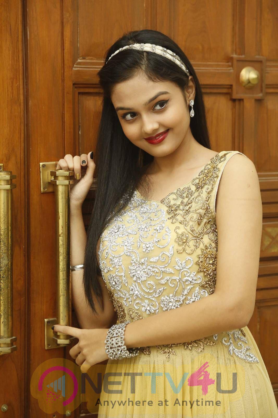 Latest Photos Of Actress Pragathi At Basthi Movie Audio Launch