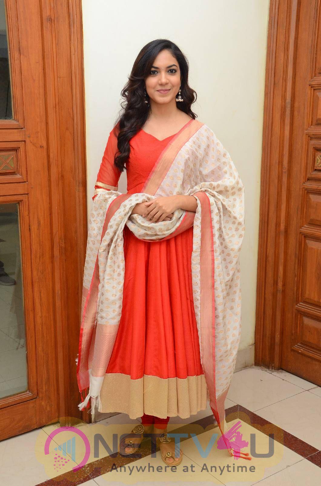 Latest Photos Of Actress Ritu Varma At Cinema Choopistha Maava Audio Launch