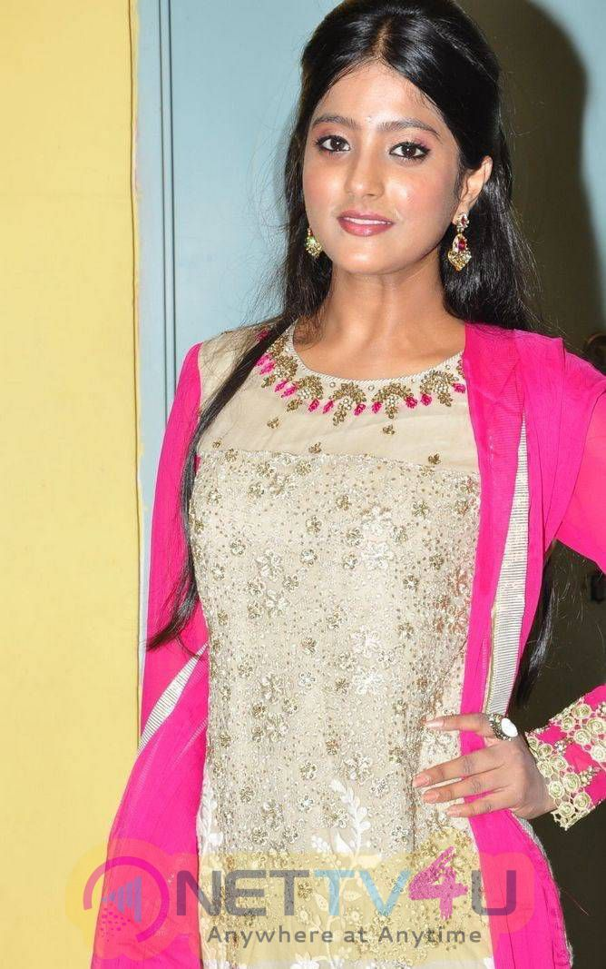 Latest Photos Of Actress Ulka Gupta At Andhra Pori Movie Preview Show