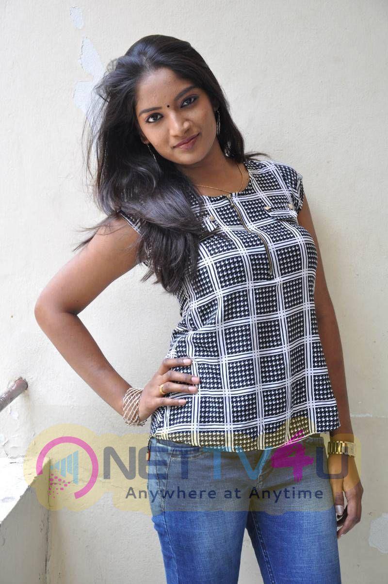 Latest Stills Of Actress Keerthi At Tenth Lo Luck Inter Lo Kick B Tech Lo Movie Press Meet