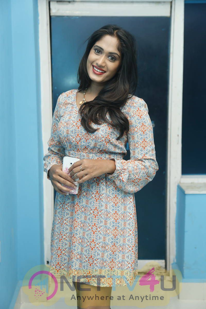 latest stills of actress sowmya venugopal at haveli coffee shop opening 1
