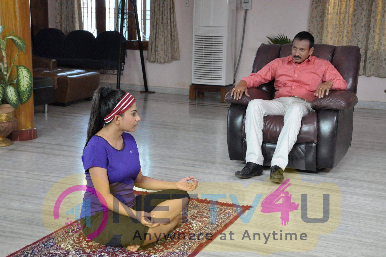 Latest Stills Of Andala Chandamama Telugu Movie