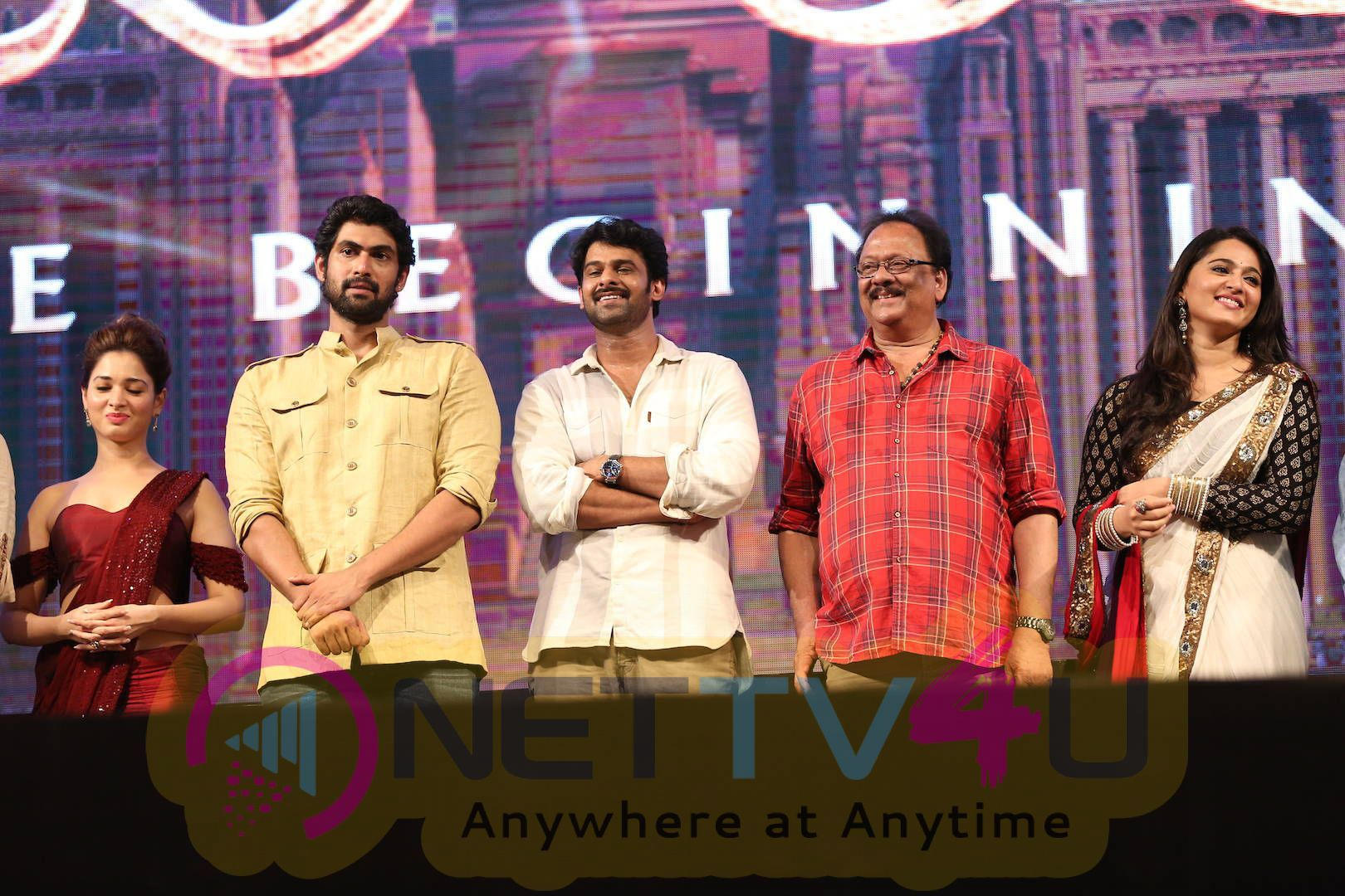 latest stills of bahubali movie audio launch 17