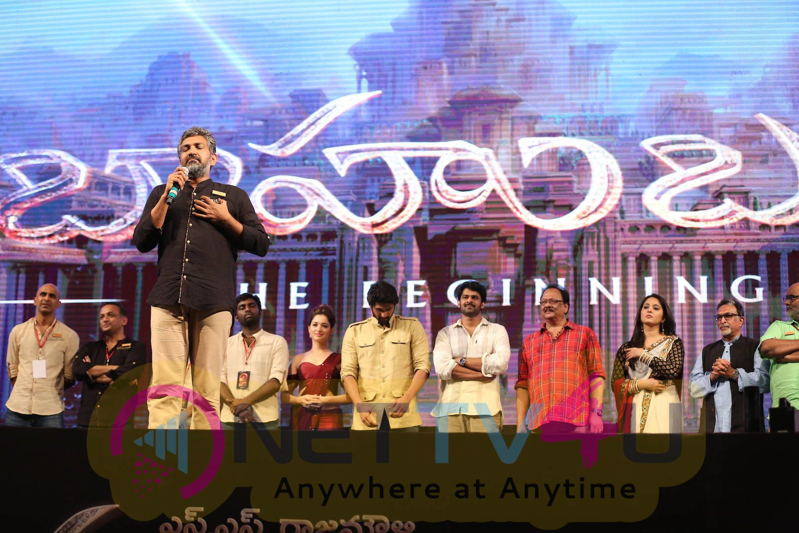 latest stills of bahubali movie audio launch 21