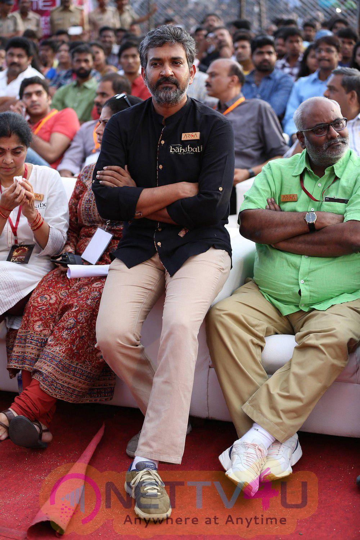 latest stills of bahubali movie audio launch 3