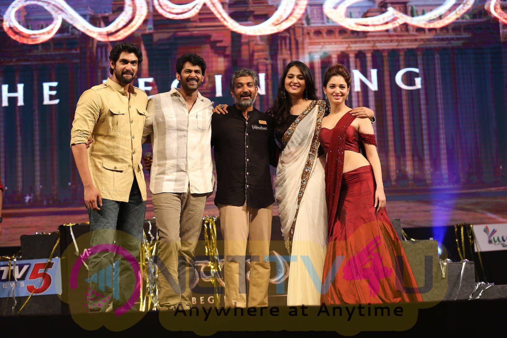 latest stills of bahubali movie audio launch 36