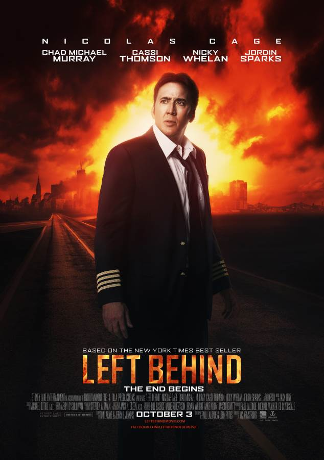 Left Behind Movie Review English