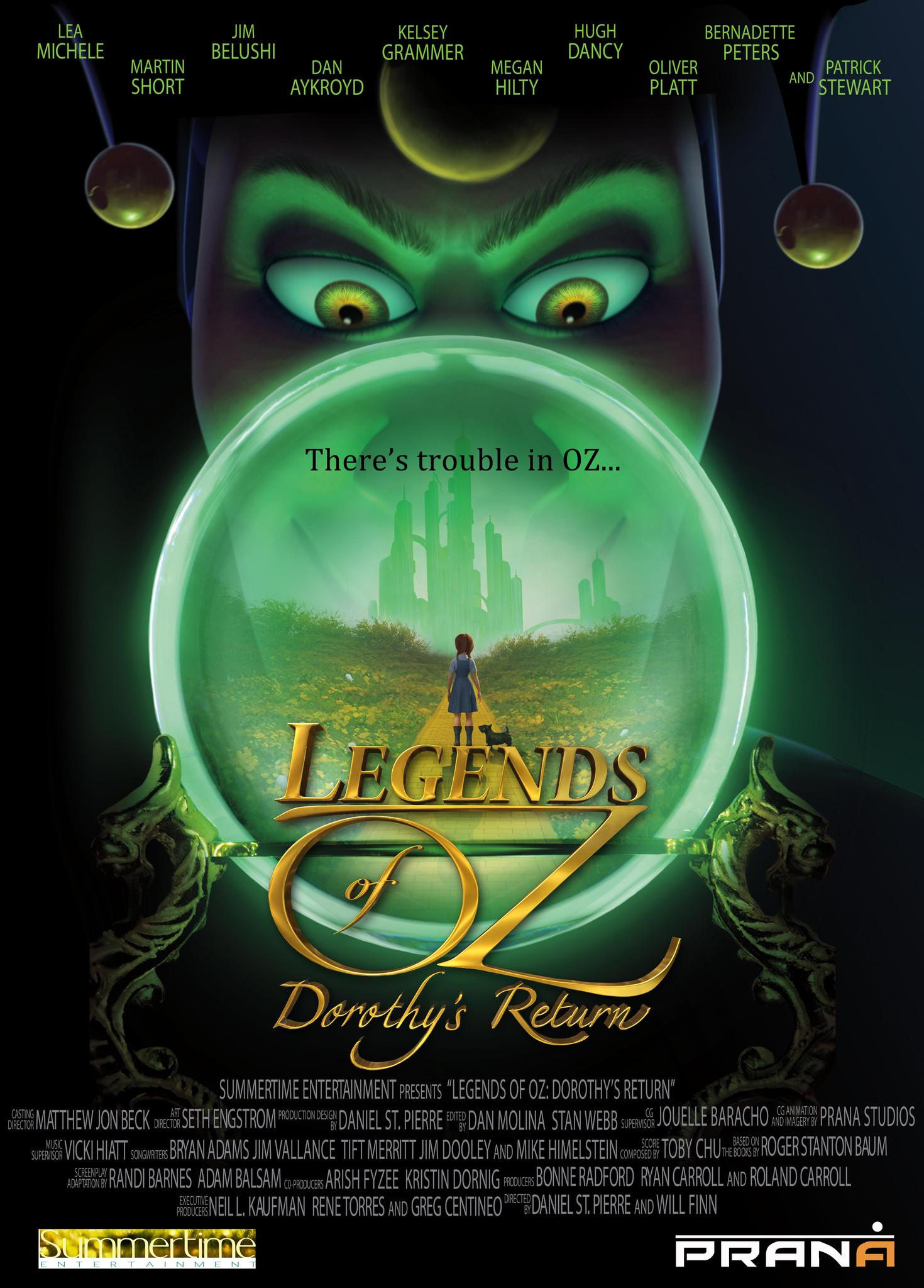 Legends of Oz: Dorothy's Return Movie Review English