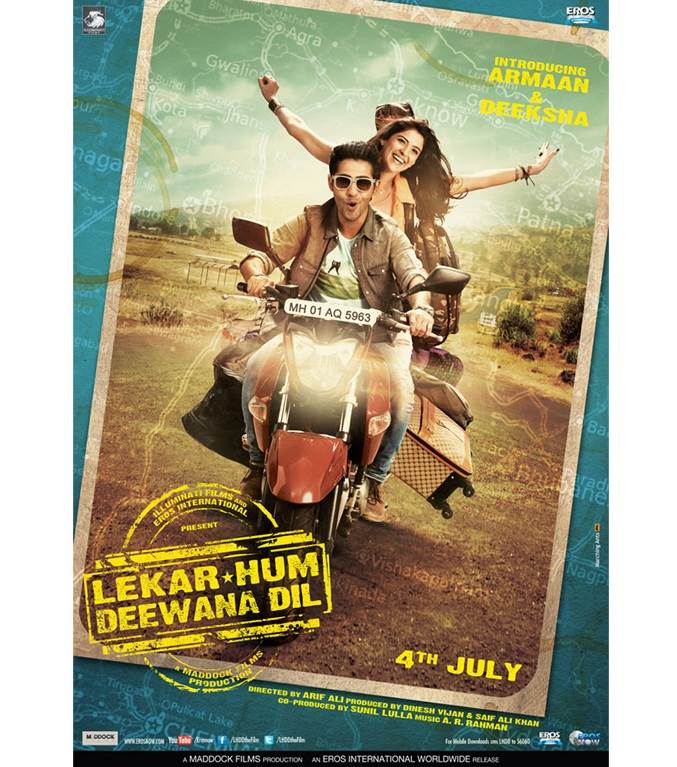 Lekar Hum Deewana Dil Movie Review Hindi
