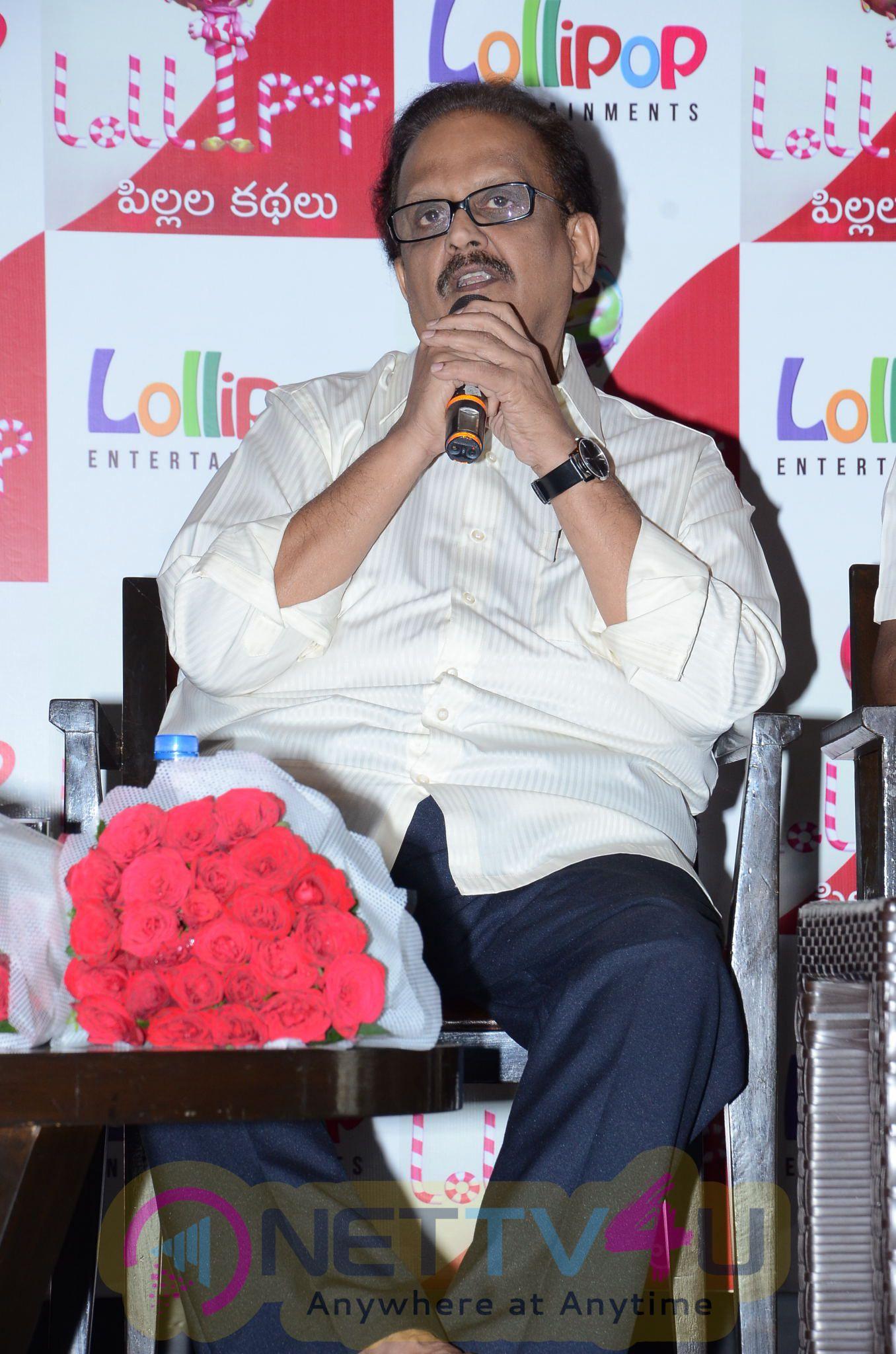 Lollipop Stories App Launch By S P Balasubrahmanyam Exclusive Photos