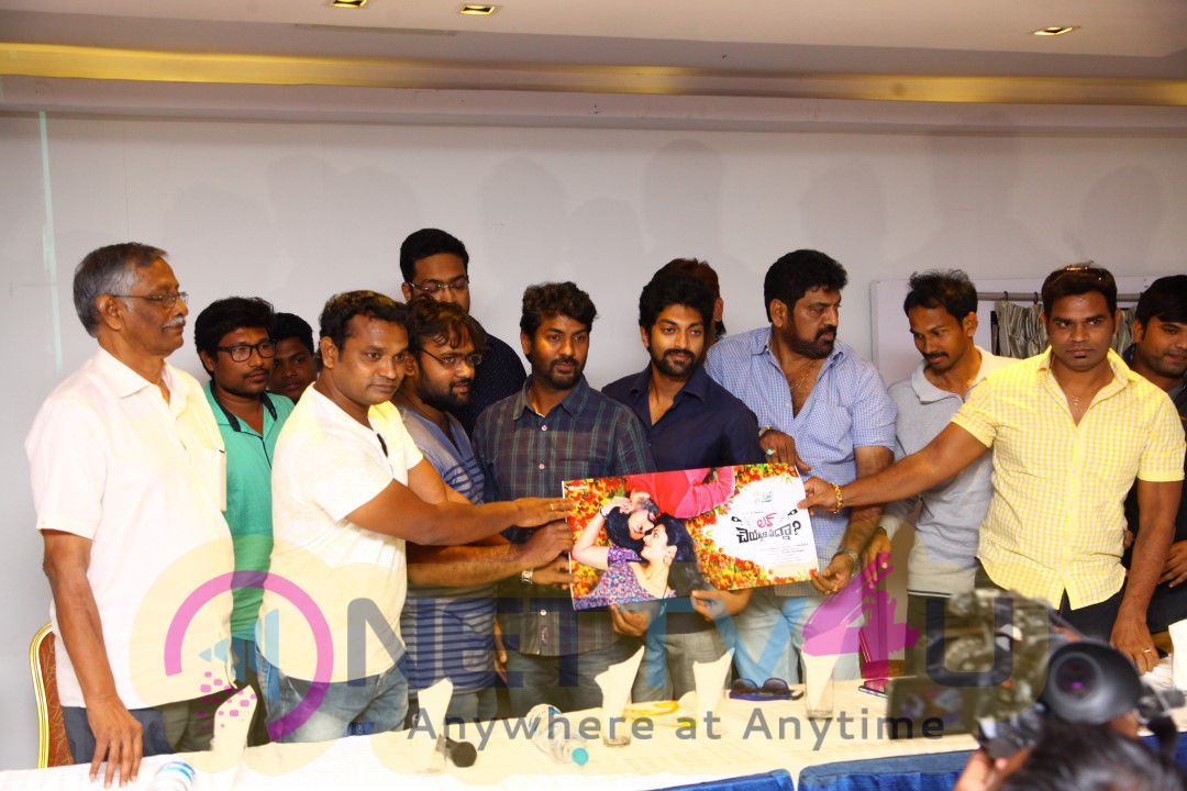 Love Cheyyala Vadda First Look Launch Photos