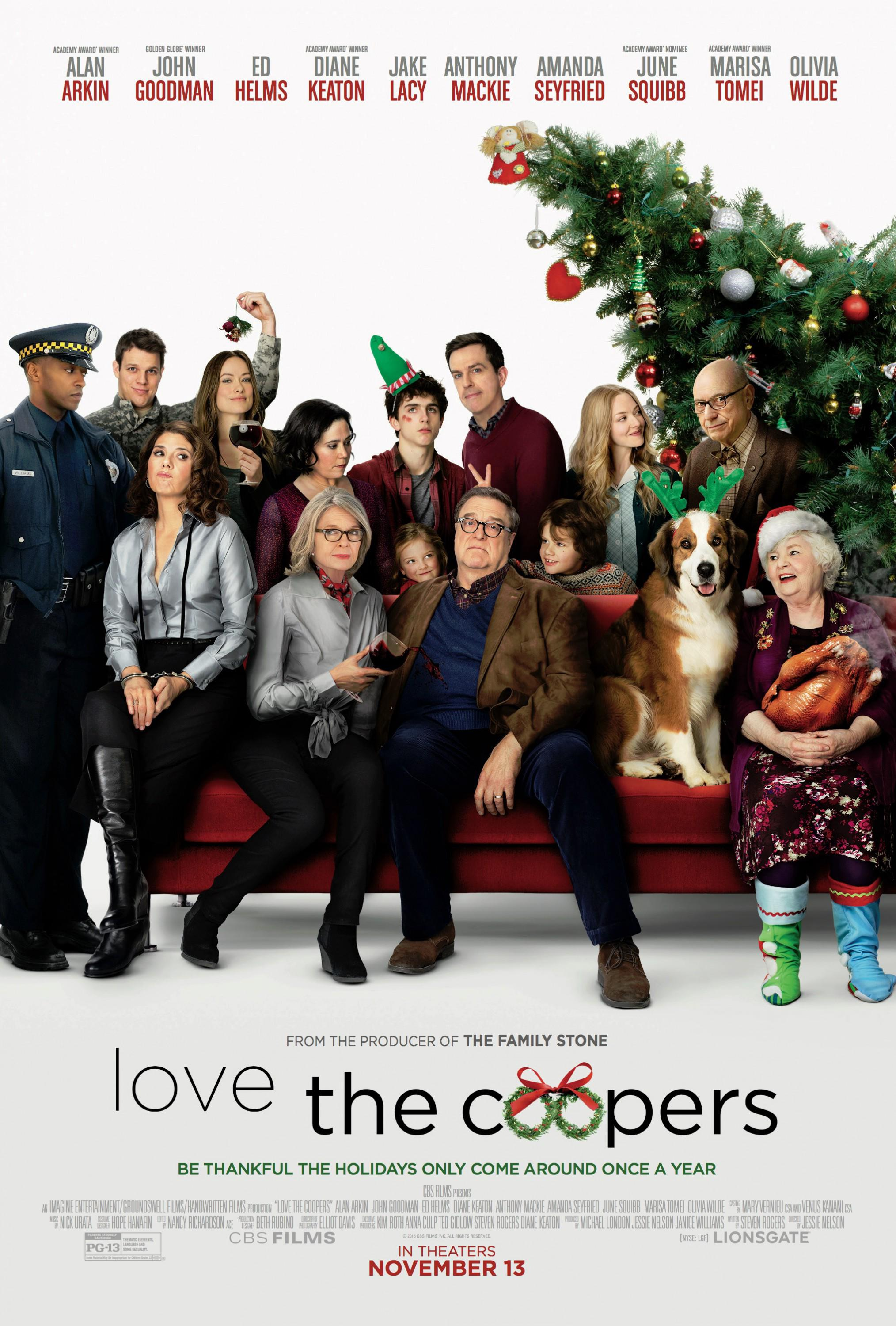 Love the Coopers Movie Review English