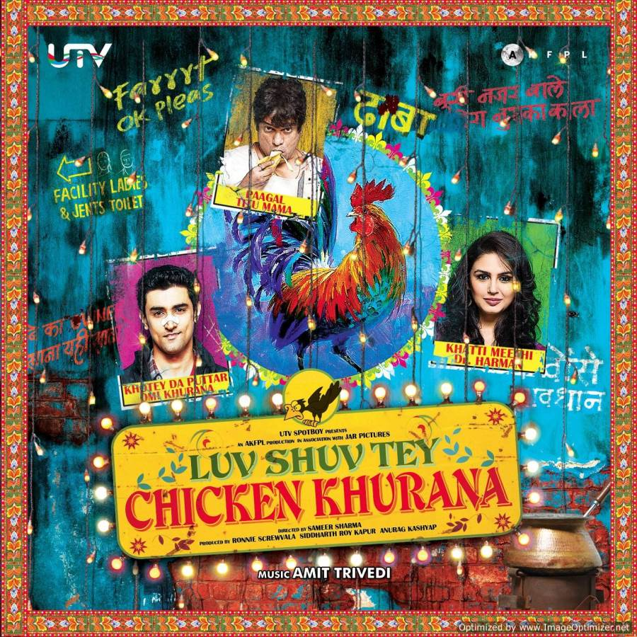 Luv Shuv Tey Chicken Khurana Movie Review Hindi