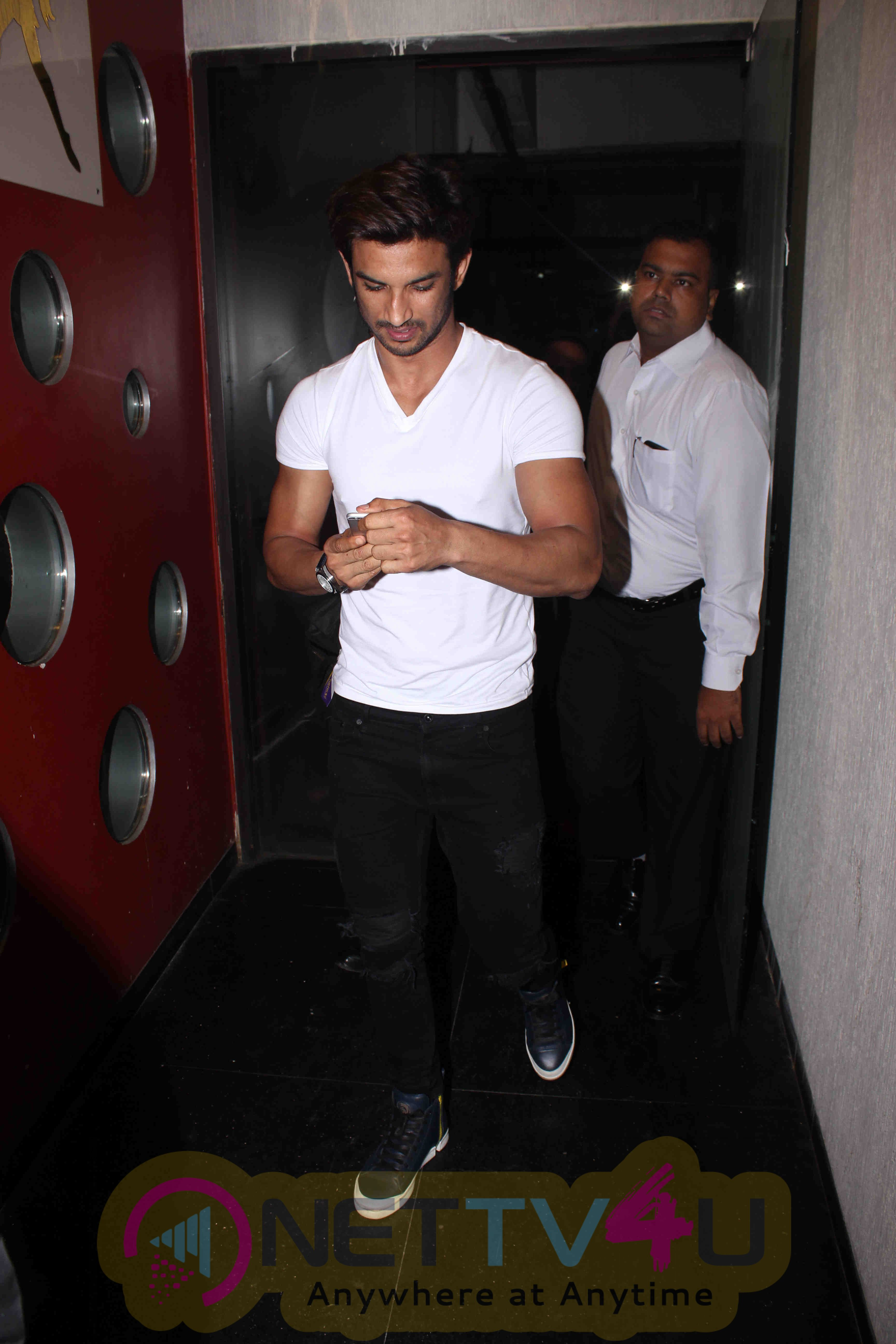 M.S. Dhoni At The Untold Story Official Trailer Launch Event Stills