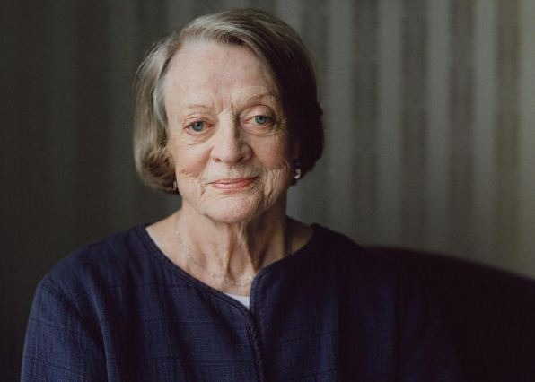 Maggie Smith Receives Emmy Award! Responds To Kimmel's Fun On Her!